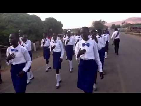 Church celebration,Nimule