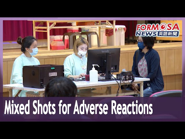 Vaccine mixing begins for people with adverse reactions to AZ