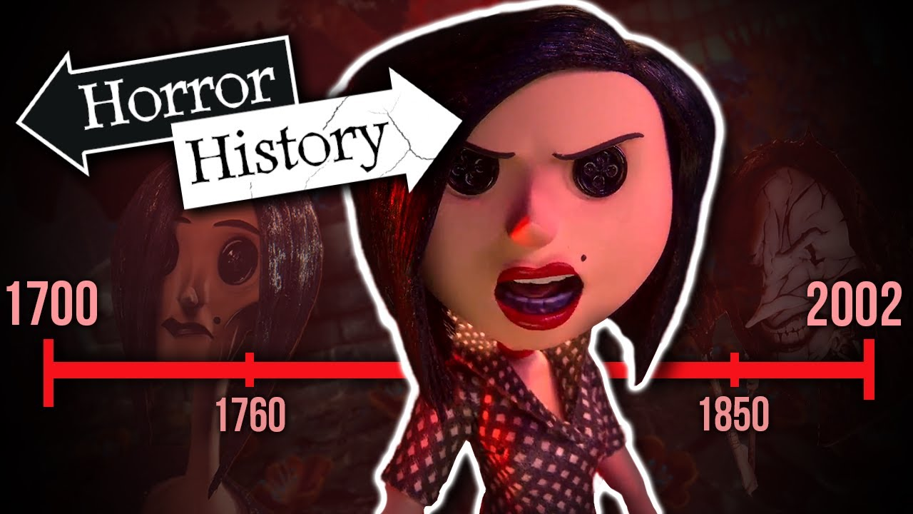 Coraline The History Of The Beldam Horror History Youtube