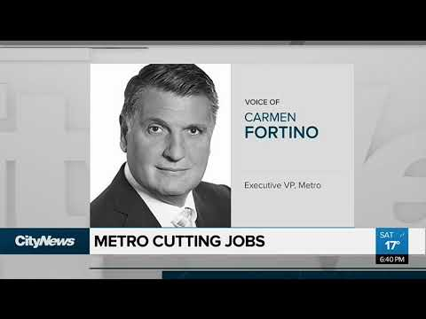 Sears Canada officially liquidating and Metro cuts jobs