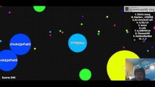 Agar.io: Agar.io Teaming in FFA, Part 2: MY FRIEND GOT 1st Place!