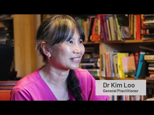 Dr Kim Loo at the coalface of the climate crisis