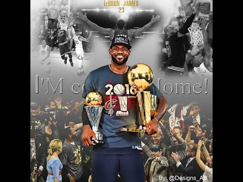 LeBron James ''My house'' Finals MVP Ultimate MIX 2016