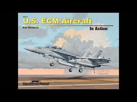 U.S. ECM Aircraft In Action