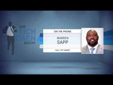 Warren Sapp Reveals the Reason He Tested Positive for Pot at the 1995 NFL Combine - 4/25/17
