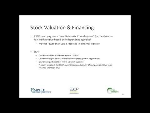 Employee Stock Ownership Plans (ESOPs) 101: What/Why/How