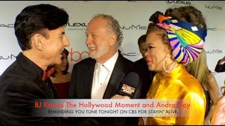 Andra Day talking Stayin' Alive The Grammy's Musical Salute to The Bee Gees The Hollywood Moment