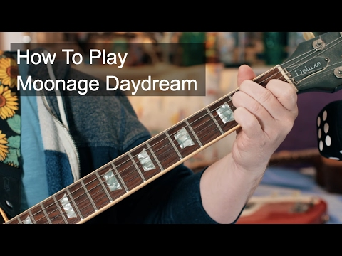 Moonage Daydream Guitar and Bass Lesson - David Bowie