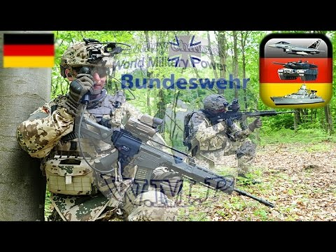Federal Defence Forces of Germany | Bundeswehr | German Military Power 2016 - 2017