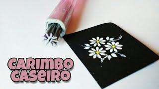 Gambar cover Como fazer CARIMBOS CASEIROS, para adesivos artesanais, COM PREGOS / Samy's Nails