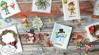 2020 Christmas Collections from Joset \u0026 Suzanne | Elizabeth Craft Designs