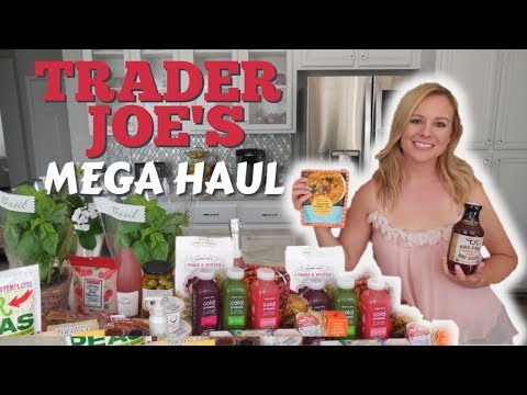 Coolest Finds At Trader Joe's | Massive Haul July 2018