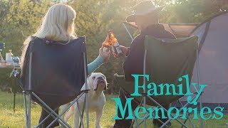 Lincoln's family camping photo album | ENGLISH BULLDOG