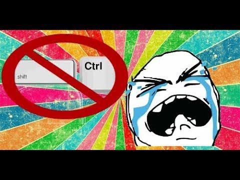 Что делать если не работают сочетание клавиш CTRL и SHIFT и не меняется раскладка клавиатуры