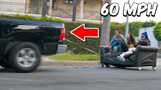 We went Couch Surfing in Traffic!! **NEVER AGAIN**