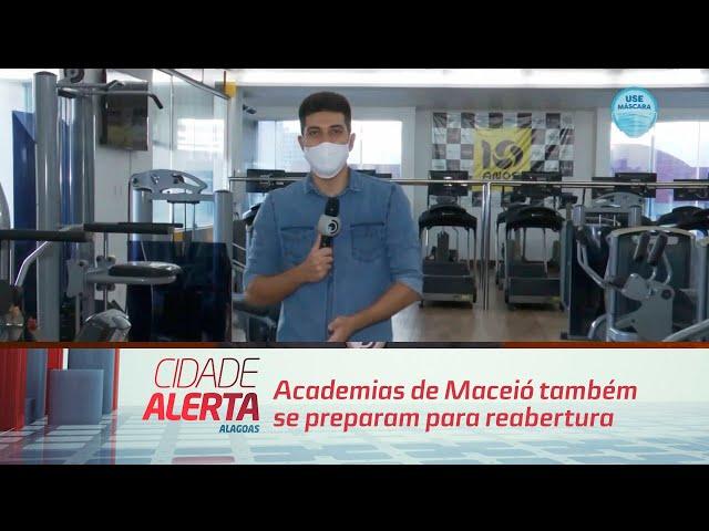 Academias de Maceió também se preparam para reabertura
