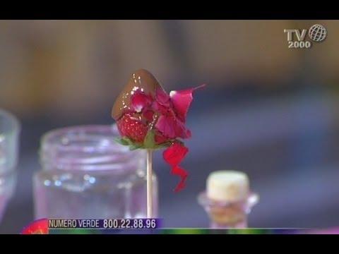 Dallantipasto Al Dolce Con I Petali Di Rosa E Altri Fiori Youtube