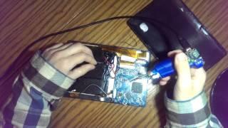 как отремонтировать touch screen у планшета