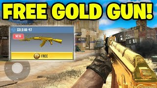 How To Unlock FREE GOLD GUNS in Call of Duty Mobile..