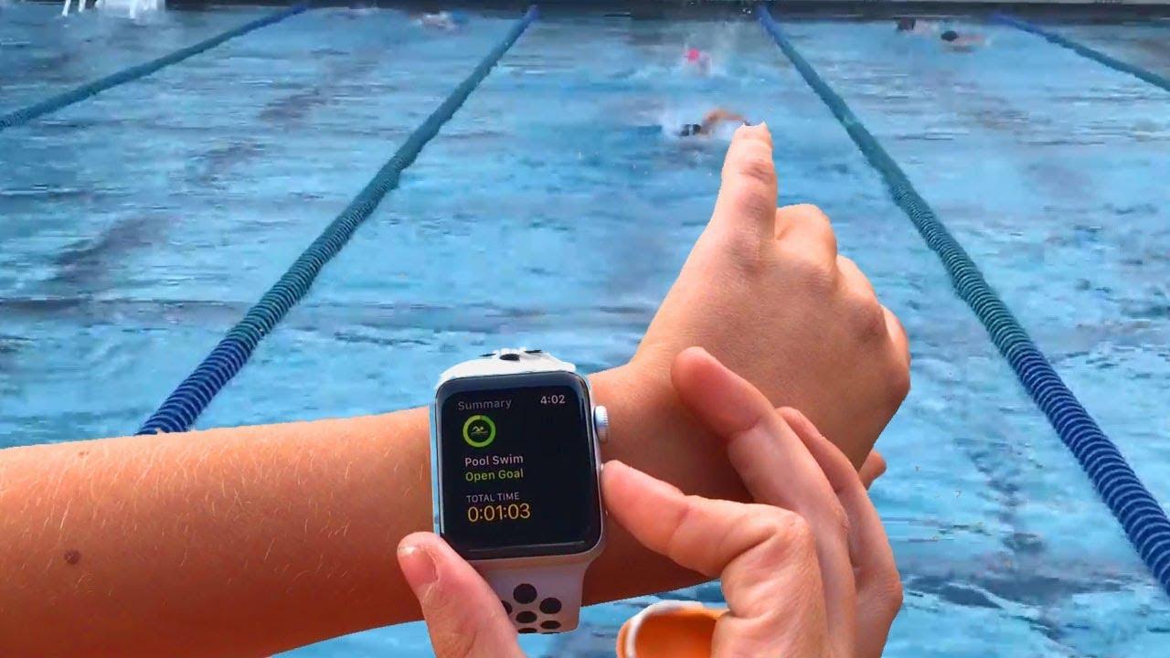 buy popular c3316 37a7e Apple watch Nike series 3 Test secretly waterproof