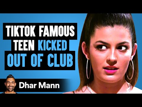 TikTok FAMOUS TEEN Kicked Out Of Club, What Happens Next Is Shocking | Dhar Mann