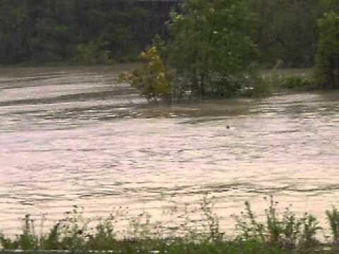 east berne airport under water