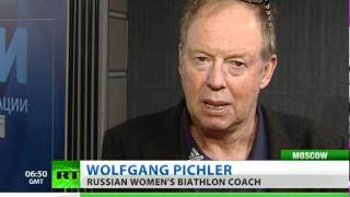 Wolfgang Pichler to spearhead the Russian women's biathlon team