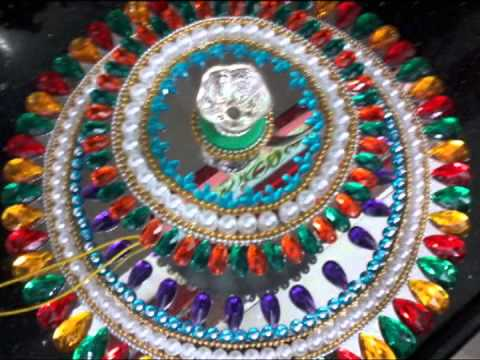 Floating rangolis diyas youtube for Diya decoration youtube