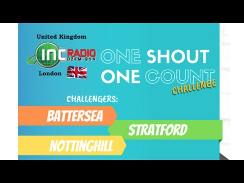 INC Radio United Kingdom | ONE SHOUT, ONE COUNT - July 6, 2020