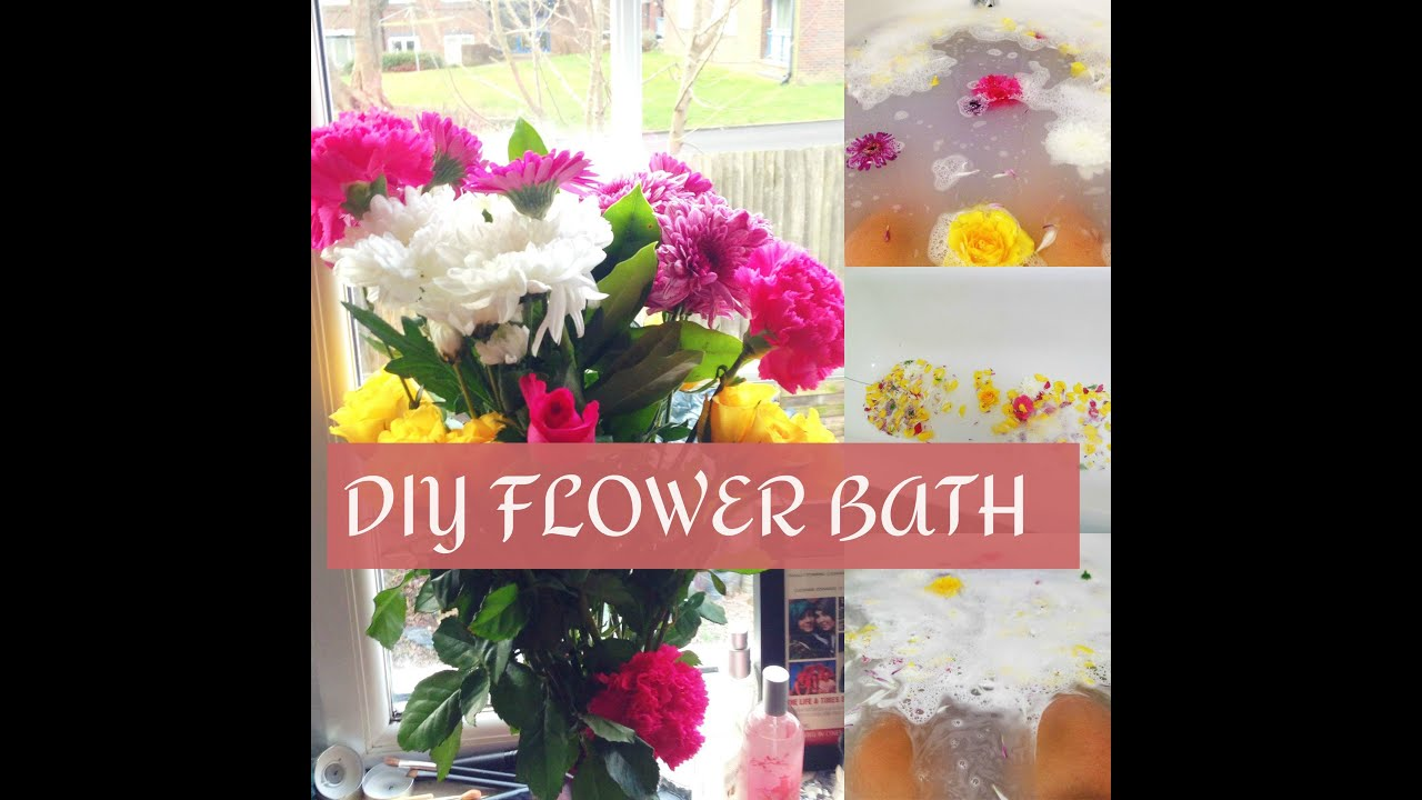 DIY Flower Bath ❤ - YouTube