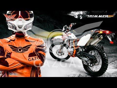 GAZGAS   Hummer 150 Trail Adventure (review)