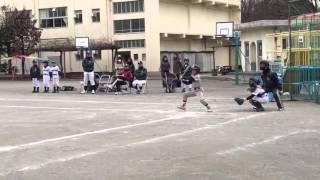 2016年1月23日【凪翔バッティング】vs上柏尾コンドルズ @柏尾小学校 【練習試合】