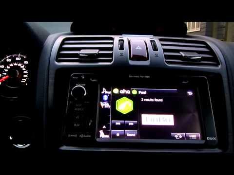 Aha Radio in a 2014 Subaru Forester
