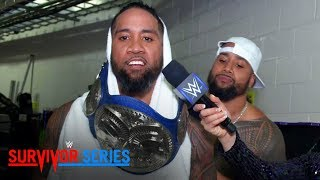 The Usos declare themselves the best in the tag division: Exclusive, Nov. 19, 2017