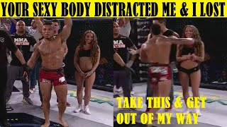 Top 10 Most Shocking Moments Between Fighters & Ring Girls