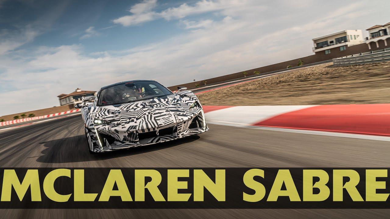 McLaren Sabre 2021 at Top Gear