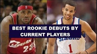 10 Greatest NBA Rookie Debuts By Current Players