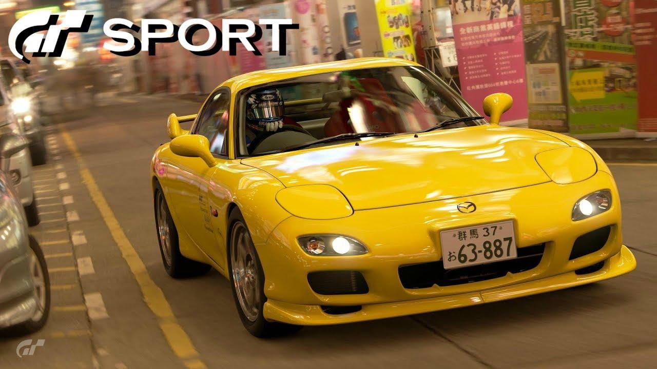 GT SPORT - Mazda FD RX-7 REVIEW