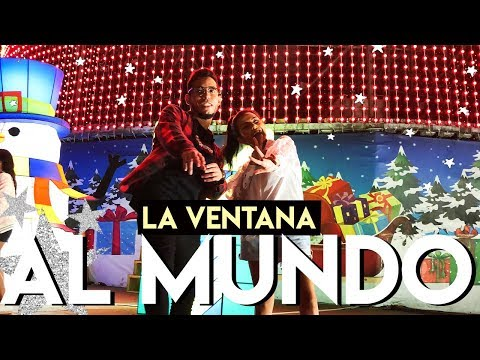 Así Es La VENTANA AL MUNDO🌎en Barranquilla | Comiendo CHICHARRON COLOMBIANO🐷