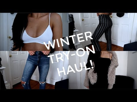 WINTER CLOTHING HAUL: Romwe, Shein, Zara, Brandy Melville, Urban Outiftters & more