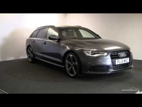 2013 audi a6 avant tdi s line black edition youtube. Black Bedroom Furniture Sets. Home Design Ideas
