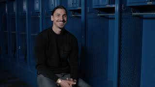 Zlatan Ibrahimovic's FIRST interview after re-signing with the LA Galaxy