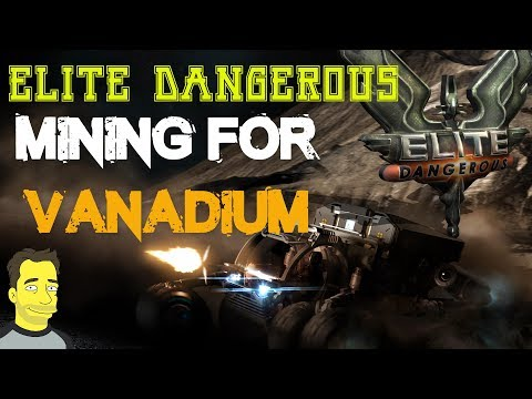 Elite Dangerous Horizons mining for Vanadium Collecting resources gameplay