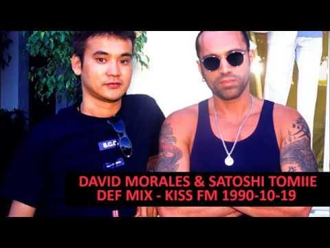 DAVID MORALES & SATOSHI TOMIIE DEF MIX 1990-10-19 KISS FM