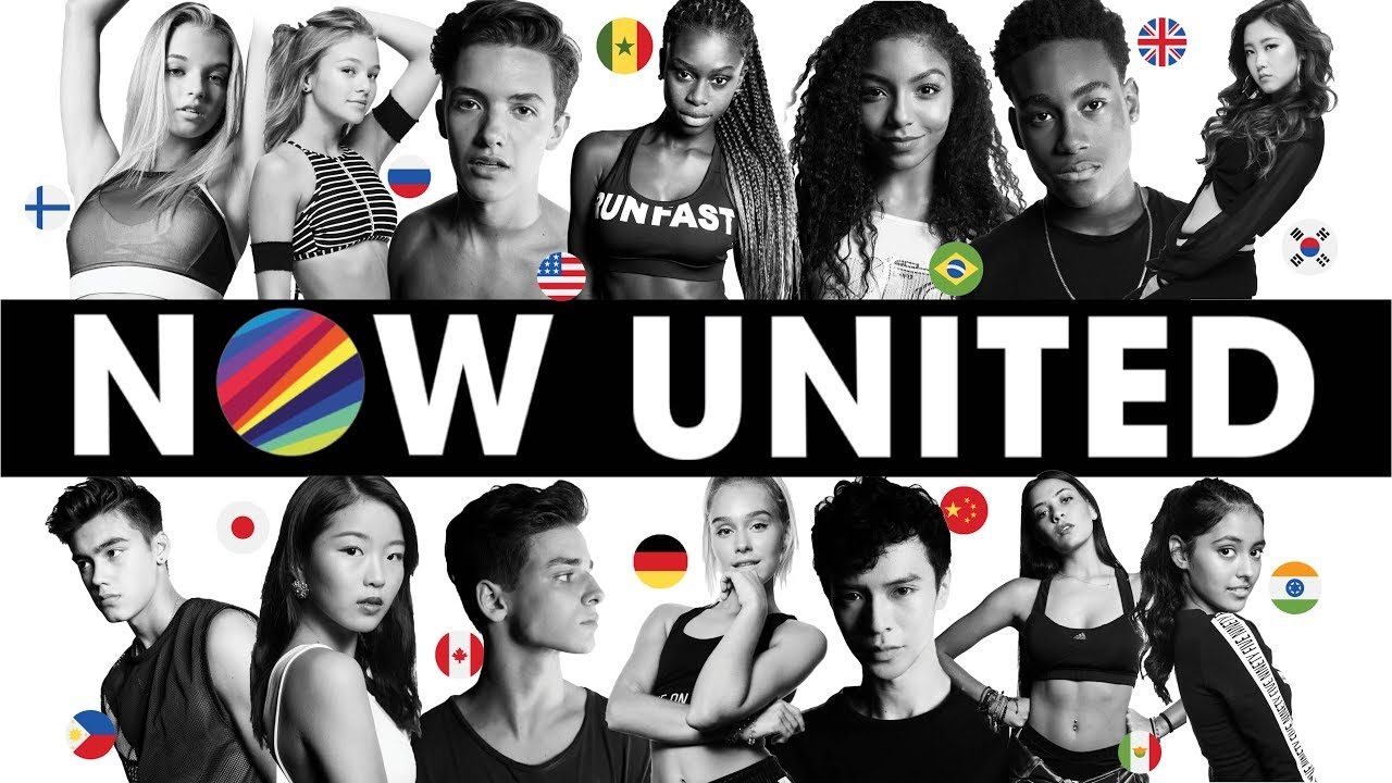 Now United Members Announcement Global Pop Group