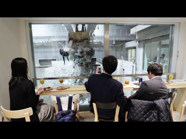 Rubbish atmosphere: Bar in Tokyo educates people about waste disposal