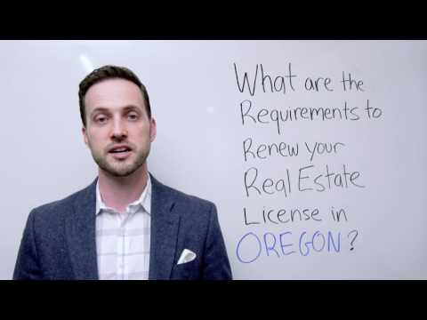 Oregon Real Estate License Renewal and  Continuing Education Courses FAQ
