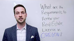 Oregon Real Estate License Renewal and  Continuing Education Courses FAQ