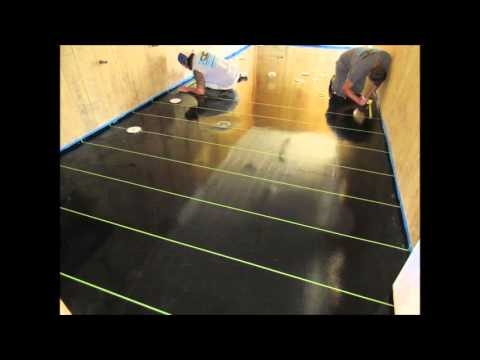 How to install Epoxy Tile in Columbus, Ohio for Concrete Flooring Contractors