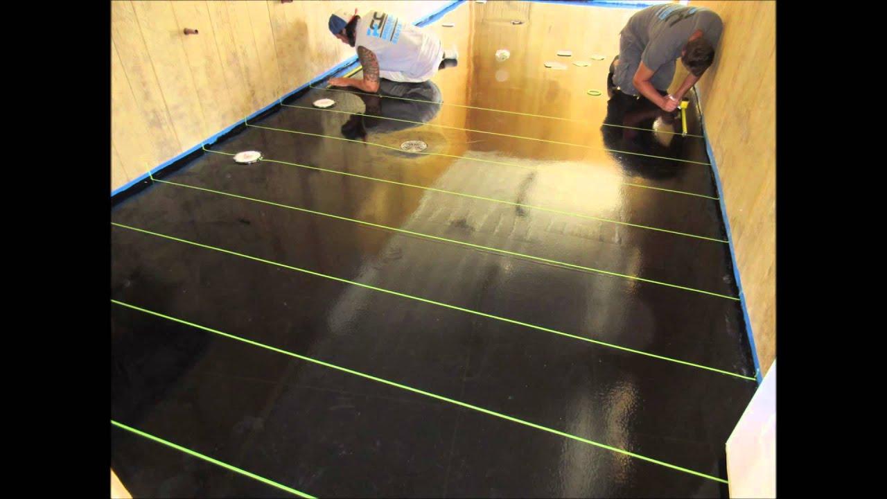 How to install Epoxy Tile in Columbus, Ohio for Concrete Flooring ...